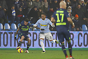 Foto LaPresse/Filippo Rubin<br /> 26/12/2018 Ferrara (Italia)<br /> Sport Calcio<br /> Spal - Udinese - Campionato di calcio Serie A 2018/2019 - Stadio &quot;Paolo Mazza&quot;<br /> Nella foto: MOHAMED FARES (SPAL)<br /> <br /> Photo LaPresse/Filippo Rubin<br /> December 26, 2018 Ferrara (Italy)<br /> Sport Soccer<br /> Spal vs Udinese - Italian Football Championship League A 2018/2019 - &quot;Paolo Mazza&quot; Stadium <br /> In the pic: MOHAMED FARES (SPAL)