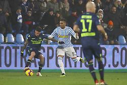 """Foto LaPresse/Filippo Rubin<br /> 26/12/2018 Ferrara (Italia)<br /> Sport Calcio<br /> Spal - Udinese - Campionato di calcio Serie A 2018/2019 - Stadio """"Paolo Mazza""""<br /> Nella foto: MOHAMED FARES (SPAL)<br /> <br /> Photo LaPresse/Filippo Rubin<br /> December 26, 2018 Ferrara (Italy)<br /> Sport Soccer<br /> Spal vs Udinese - Italian Football Championship League A 2018/2019 - """"Paolo Mazza"""" Stadium <br /> In the pic: MOHAMED FARES (SPAL)"""