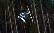 Oslo, Norway. 26th February, 2016<br /> <br /> The 2016 Winter X Games arrived in Oslo this year, bringing athletes from all around the world to the Norwegian city. The event focuses on winter sports, such as skiing and snowboarding.<br /> <br /> Pictured competing in the Men's SuperPipe final at Wylland is Silver Medalist Iouri Podladtchikov<br /> <br /> Matthew James / Alamy Live News