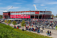 ROTTERDAM - 30-04-2017, AZ - Vitesse, finale KNVB beker, Stadion De Kuip, supporters prachtstad