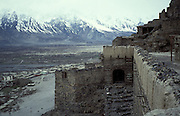 Old skardu fort, above Skardu, Baltistan, Easter Pakistan, Asia