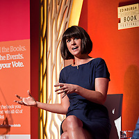 Dawn O'Porter on stage at the Edinburgh International Book Festival 2013. <br /> 23 August 2013. <br /> <br /> Photograph by Chris Scott/Writer Pictures <br /> WORLD RIGHTS