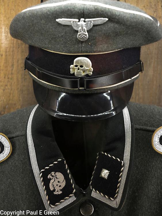 SS nazi Uniform Detail Schindler's Factory Krakow Poland