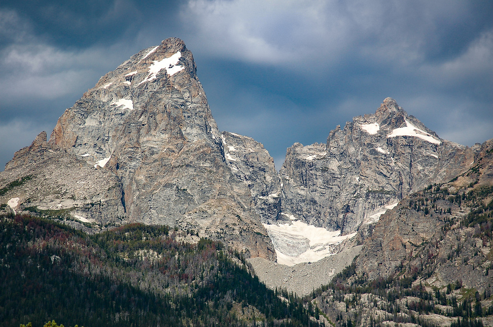Grand Tetons mountain range in Wyoming
