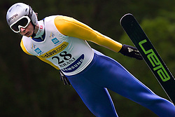Ziga Mandl of SSK Costella Ilirija during Ski Jumping Summer Continental Cup in Kranj, on July 2, 2011, in Kranj, Slovenia. (Photo by Vid Ponikvar / Sportida)