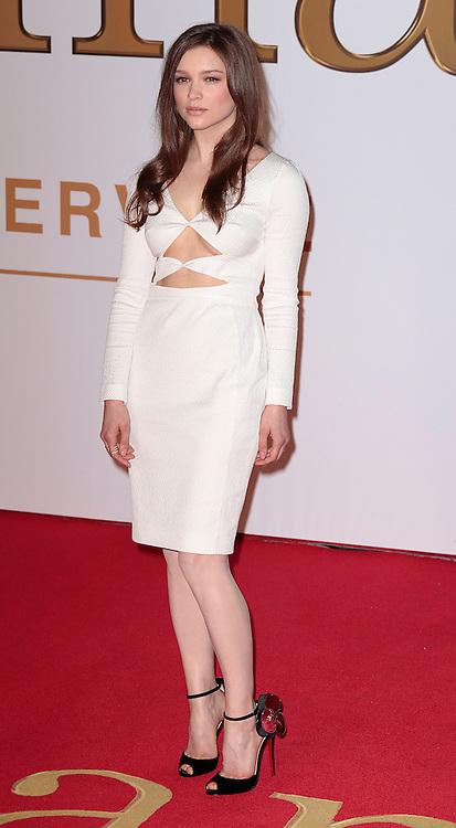 "Jan 14, 2015 - ""Kingsman: The Secret Service"" - World Premiere - Red Carpet Arrivals at Odeon,  Leicester Square, London<br /> <br /> Pictured: Sophie Cookson<br /> ©Exclusivepix Media"