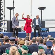 NLD/Terneuzen/20190831 - Start viering 75 jaar vrijheid, Julie Payette ontsteekt het vuur