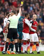 Arsenal v Southampton, 8 April 2018