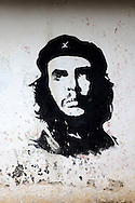 Image of Ernesto Che Guevara in Floro Perez, Holguin, Cuba.