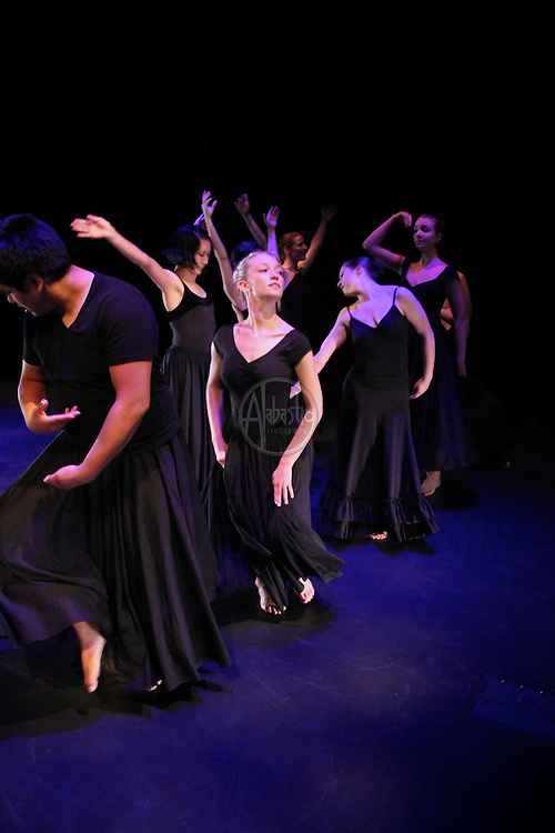 """The Stone Dance Collective performs """"The End of A Year"""" by Eva Stone at Chop Shop: Northside at Black Box Theater on October 2010."""