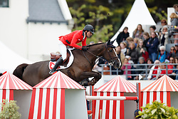 Duguet Romain, (FRA), Quorida de Treho<br /> Furusiyya FEI Nations Cup presented by Longines<br /> Longines Jumping International de La Baule 2015<br /> © Hippo Foto - Dirk Caremans<br /> 15/05/15