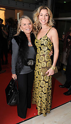 Left to right, LADY GREEN and her daughter STASHA PALOS at a reception to launch the Saatchi Opus held at the Saatchi Gallery, King's Road, London on 26th November 2009.