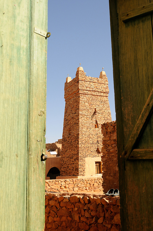 Die Moschee von Chinguetti,eine der sieben heilgsten Stätten des Islams