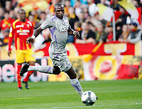Fotball<br /> Frankrike<br /> Foto: DPPI/Digitalsport<br /> NORWAY ONLY<br /> <br /> FOOTBALL - FRENCH CHAMPIONSHIP 2009/2010  - L1 - RC LENS v TOULOUSE FC - 25/10/2009 <br /> <br /> MOUSSA SISSOKO (TOULOUSE)