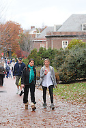 STATE COLLEGE, PA - OCTOBER 28:  In this file photo, students walk on the campus of Penn State University October 28, 2009 in State College, Pennsylvania. The Penn State Board of Trustees fired President Graham Spanier and head football coach Joe Paterno after an alleged sex abuse scandal at the school November 8, 2011. (Photo by William Thomas Cain/cainimages.com)