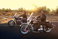 Motor Bike Riders, Bend, Oregon, USA