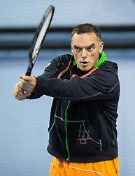 Gasper Bolhar at Istenic doubles Tournament and Slovenian Tennis personality of the year 2015 annual awards presented by Slovene Tennis Association TZS, on December 12, 2015 in Millenium Centre, BTC, Ljubljana, Slovenia. Photo by Vid Ponikvar / Sportida