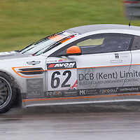 #62, Aston Martin GT4 Challenge, Academy Motorsport, driven by Chris Webster and James Harrison, 03/05/2015. British GT Championships at Rockingham