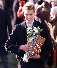 Royals at Sandringham 2000