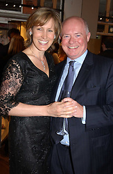 HOWELL JAMES and SANTA SEBAG-MONTEFIORE at a party to celebrate the publication of 'Last Voyage of The Valentina' by Santa Montefiore at Asprey, 169 New Bond Street, London W1 on 12th April 2005.<br /><br />NON EXCLUSIVE - WORLD RIGHTS