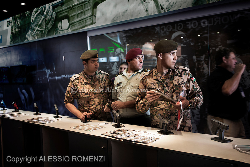 Jordan, Amman. The SOFEX exhibition (Special Operations Forces Exhibition) it is the largest in the world and brings together 371 world-renowned exhibitors in the fields of defence, homeland security and counterterrorism from about 41 countries. ALESSIO ROMENZI