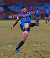 PRETORIA, SOUTH ARICA - MARCH 17: Handré Pollard(c) of the Vodacom Bulls kicks during the Super Rugby match between Vodacom Bulls and Sunwolves at Loftus Versfeld on March 17, 2017 in Pretoria, South Africa. (Photo by Anton Geyser/Gallo Images)