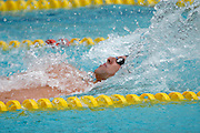 Belo Horizonte_MG, Brasil...Copa do Mundo de Natacao 2007. Na foto Randal Ball, dos EUA, vencedor da prova 100m Costas...Swimming World Cup 2007. In this photo the swimmer Randal Ball, of USA, He is the champion in the 100m backstroke, in Belo Horizonte...Foto: LEO DRUMOND / NITRO