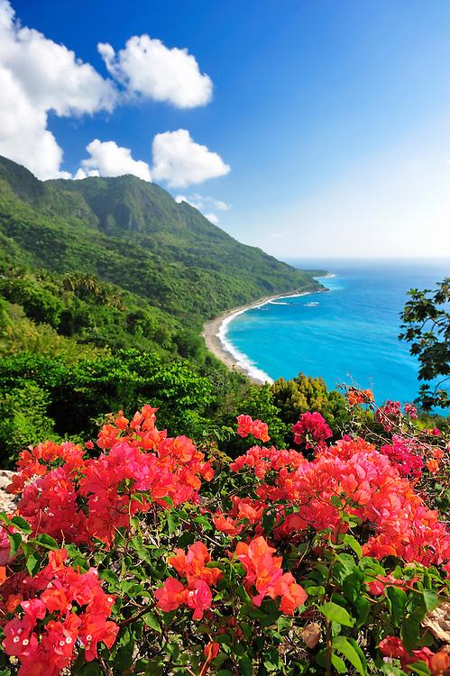 Coast near La Cienaga, Barahona, Dominican Republic, Caribbean..