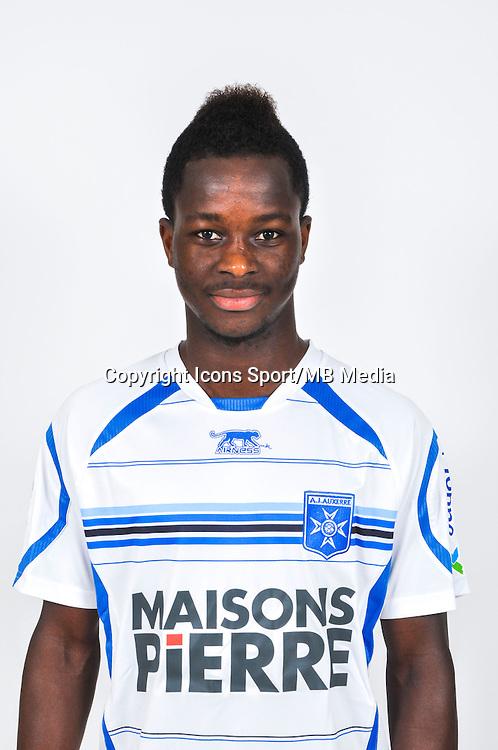Souleymane SAWADOGO  - 18.09.2013 - Photo Officielle - Auxerre -<br /> Photo : Icon Sport