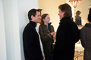 DAVID HEYMEN; LADY LIZA CAMPBELL; DANNY MOYNIHAN, The Pimlico Road Summer party. London SW1. 9 June 2009