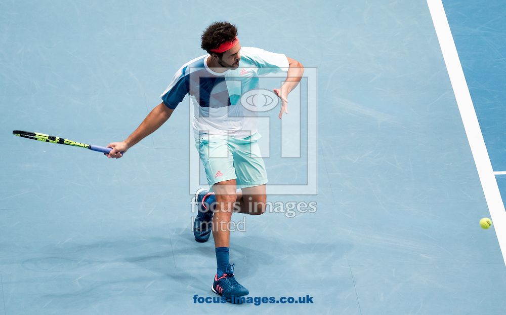 Jo-Wilfred Tsonga during the final of the Erste Bank Open at Wiener Stadthalle, Vienna, Austria.<br /> Picture by EXPA Pictures/Focus Images Ltd 07814482222<br /> 30/10/2016<br /> *** UK &amp; IRELAND ONLY ***<br /> EXPA-PUC-161030-0306.jpg