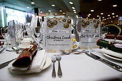 Exeter Chiefs host their annual Christmas Lunch for the Exeter Chiefs Foundation - Mandatory by-line: Robbie Stephenson/JMP - 05/12/2019 - RUGBY - Sandy Park - Exeter, England - Exeter Chiefs Christmas Lunch 2019