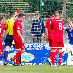 Stranraer v Dunfermline   Scottish league One   30 August 2014