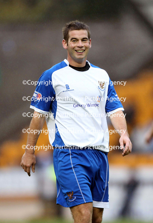 St Johnstone FC... Season 2007-08<br /> Peter MacDonald<br /> Picture by Graeme Hart.<br /> Copyright Perthshire Picture Agency<br /> Tel: 01738 623350  Mobile: 07990 594431