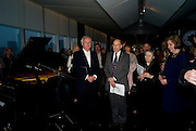 PAUL MYNERS; ANTHONY D'OFFAY, The Presentation of the Montblanc de la Culture Arts Patronage Award to Anthony D'Offay. Tate Modern. 16 April 2009<br /> PAUL MYNERS; ANTHONY D'OFFAY, The Presentation of the Montblanc de la Culture Arts Patronage Award to Anthony D'Offay. Tate Modern. 16 April 2009 *** Local Caption *** -DO NOT ARCHIVE-© Copyright Photograph by Dafydd Jones. 248 Clapham Rd. London SW9 0PZ. Tel 0207 820 0771. www.dafjones.com.
