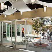The SDG&E Energy Innovation Center has a design pedigree: it's got roots in the optimistic and imaginative California modern of the 1960s, with ties to Pereira & Luckman. Hanna Gabriel Wells Architects - San Diego.