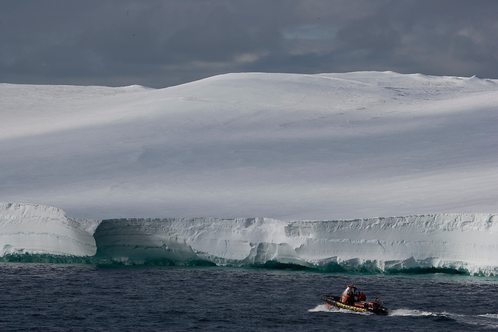 February 19th 2007. Ross Sea. Southern Ocean.