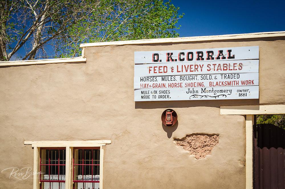 The O.K. Corral, Tombstone, Arizona USA
