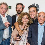 NLD/Amsterdam/20170328 - Uitreiking Tv Beelden 2017, cat de zaak Menten, Hans knoop en partner