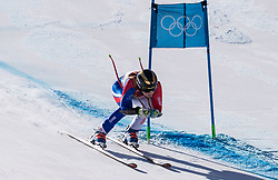February 17, 2018 - PyeongChang, South Korea - ROMANE MIRADOLI of France during Alpine Skiing: Ladies Super-G at Jeongseon Alpine Centre at the 2018 Pyeongchang Winter Olympic Games. (Credit Image: © Patrice Lapointe via ZUMA Wire)