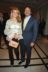 SIR ROCCO & LADY FORTE at a party to celebrate the 180th Anniversary of The Spectator magazine, held at the Hyatt Regency London - The Churchill, 30 Portman Square, London on 7th May 2008.<br /><br />NON EXCLUSIVE - WORLD RIGHTS