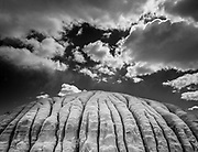 Siltstone and clouds, Utah  2002