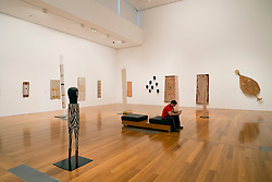 Gallery of Modern Art or GoMA on Southbank in Brisbane Queensland Australia