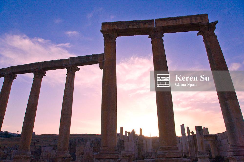 Ancient Jerash ruins, Amman, Jordan