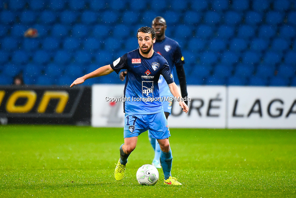 Alexandre BONNET  - 12.12.2014 - Le Havre / Laval - 17eme journee de Ligue 2 <br /> Photo : Fred Porcu / Icon Sport