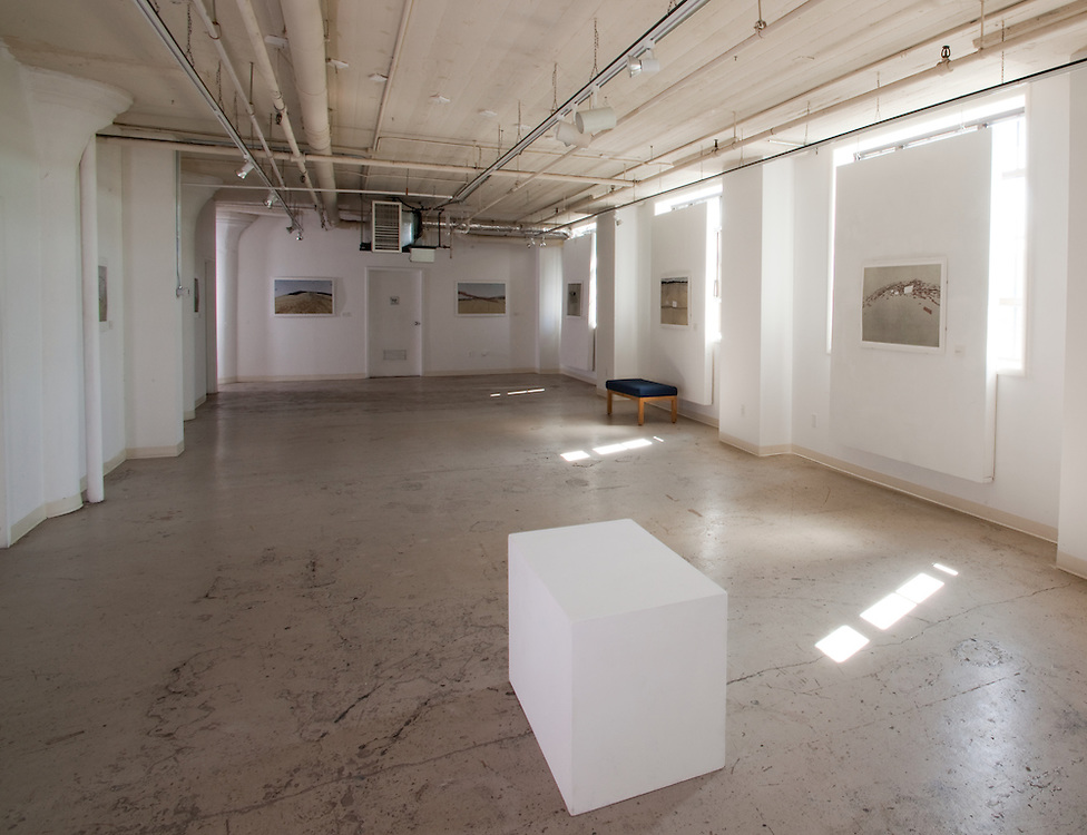 Installation view of Mike McMann's exhibition titled Superstratum at the Commonwealth Gallery in Madison, Wisconsin, 2009.