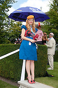 SAM WILLOUGHBY, Glorious Goodwood. Ladies Day. 28 July 2011. <br /> <br />  , -DO NOT ARCHIVE-© Copyright Photograph by Dafydd Jones. 248 Clapham Rd. London SW9 0PZ. Tel 0207 820 0771. www.dafjones.com.