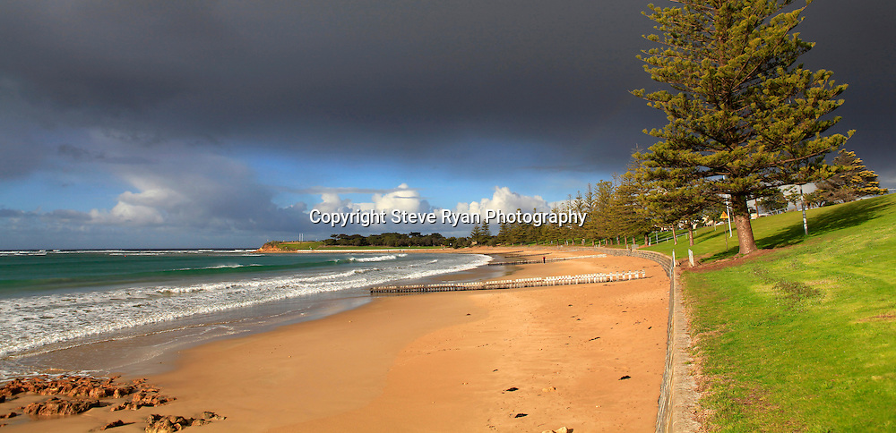 Cosy Corner  <br /> Sunny break with a stormy sky<br /> pics  Steve Ryan