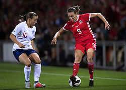 NEWPORT, WALES - Thursday, August 30, 2018: Wales' Kayleigh Green during the FIFA Women's World Cup 2019 Qualifying Round Group 1 match between Wales and England at Rodney Parade. (Pic by Laura Malkin/Propaganda)