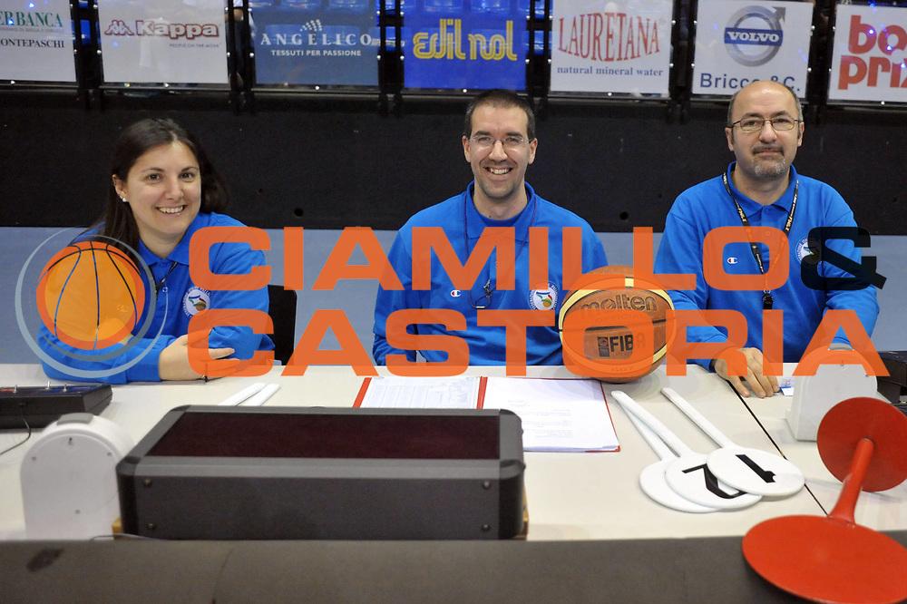 DESCRIZIONE : Biella Lega A 2011-12 Angelico Biella Bennet Cantu<br /> GIOCATORE : Ufficiali di campo<br /> CATEGORIA : Ritratto<br /> SQUADRA : Ufficiali di campo<br /> EVENTO : Campionato Lega A 2011-2012<br /> GARA : Angelico Biella Bennet Cantu<br /> DATA : 29/04/2012<br /> SPORT : Pallacanestro<br /> AUTORE : Agenzia Ciamillo-Castoria/S.Ceretti<br /> Galleria : Lega Basket A 2011-2012<br /> Fotonotizia : Biella Lega A 2011-12 Angelico Biella Bennet Cantu<br /> Predefinita :